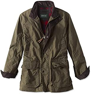 orvis river road waxed cotton jacket