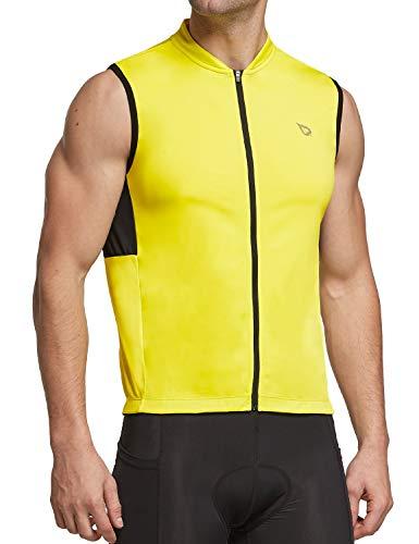BALEAF Men's Sleeveless Cycling Jersey Road Bike Shirt...