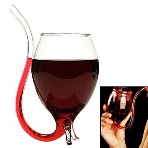KAIYAN Copa de vino tinto con boquilla de 300 ml, para whisky, vino de Oporto, copas de cóctel de vino de Oporto y copas de cóctel duraderas y elegantes para decoración del hogar