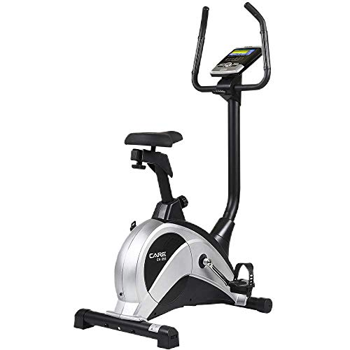 CARE FITNESS - Vélo d'Appartement CV-355 - Masse d'Inertie 10 kg - Résistance Motorisée 16...