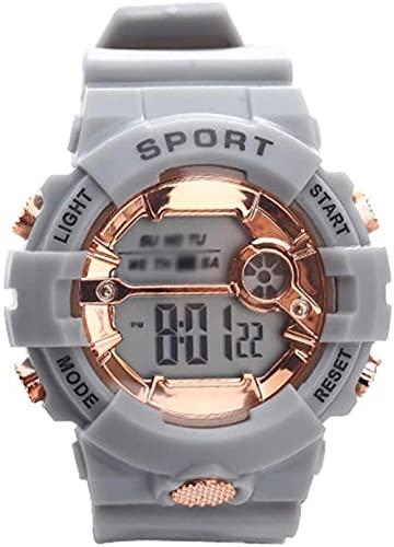 NLRHH Relojes Deportivos Digitales-Relojes de Pulsera electrónicos Informales para Exteriores para Adolescentes Relojes Deportivos Impermeables para jóvenes / para Hombres-D Peng (Color: B)-UN