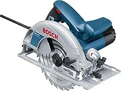 Bosch Professional handronde zaag GKS 190 (1400 watt, cirkelzaagblad: 190 mm, snijdiepte: 70 mm, in karton)*