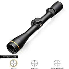 Model #170680 - VX-3i 3. 5-10x40mm with Duplex reticle and Matte finish 100% Waterproof, fogproof, and shockproof. DiamondCoat 2 - Ion-assist lens coating for higher light transmission and the greatest level of abrasion resistance. Precision 1/4 MOA ...