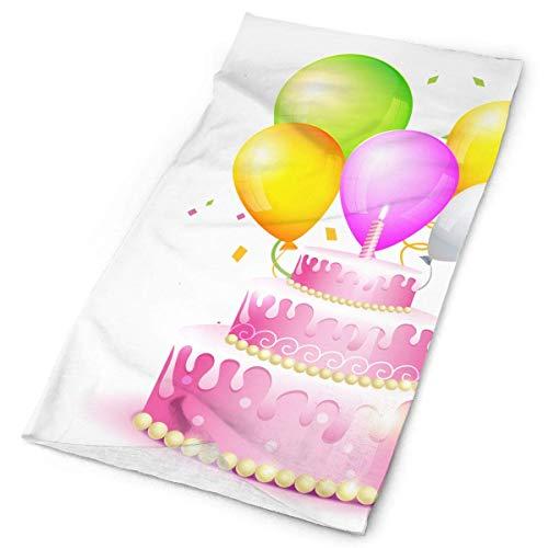 LisaArtikelen Illustratie van Verjaardagskaart Originele Hoofdband met Multi-Functie Sport en Vrije tijd Hoofddeksels UV Bescherming Sporthals, Zweetabsorberende Microvezel Hardlopen, Yoga, Wandelen