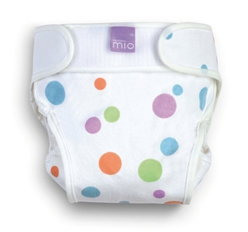 Bambino Mio Miosoft Cloth Soldering Diaper Mail order Spots Cover - Funky Small