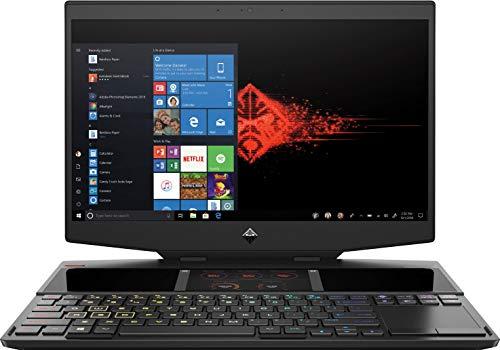 HP OMEN X 2S 15-dg0002ns - Portátil Gaming de 15.6' FullHD 144Hz (Intel Core i7-9750H, 16GB RAM, 2 x 256GB SSD, NVIDIA GeForce RTX 2070-8GB, doble pantalla, Windows 10) negro - teclado QWERTY Español