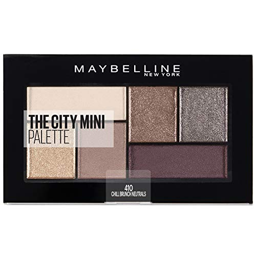 Maybelline New York The City Mini Palette 410 Chill Brunch Neutrals, per stuk verpakt (1 x 6 g)