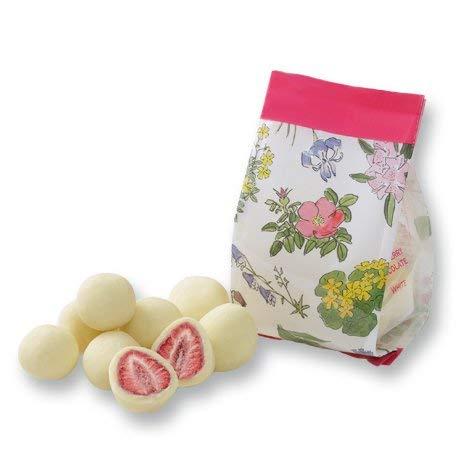 六花亭 新パッケージ ストロベリーチョコホワイト袋入 ホワイトデー 北海道 季節限り