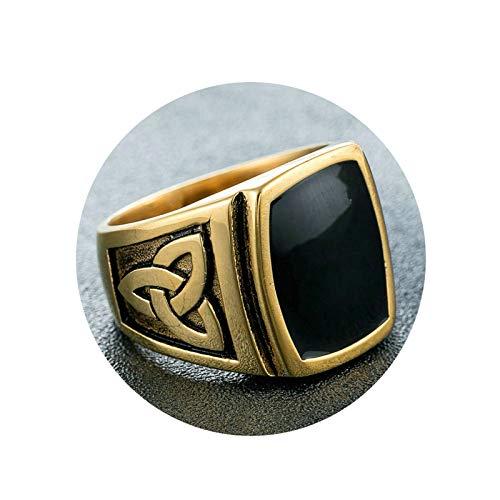 Ubestlove Wedding Rings Pair Celtic Knot Rings Ring Set Jewellery Fashion Ring Gold Z 1/2