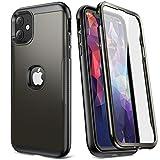 YOUMAKER Carcasa para iPhone 11, Cuerpo Completo Resistente con Protector de Pantalla Integrado, A Prueba de Golpes, Funda para iPhone 11 de 6,1 Pulgadas (2019) -Gun Color