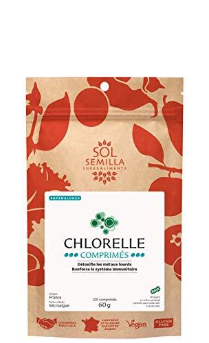 Sol Semilla Chlorelle Crue Comprimés 80 g