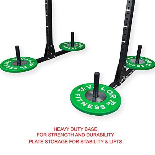 Valor Fitness BD-21 Yoke Rack with J-Hooks, Adjustable Crossbar and Pull Up Bar