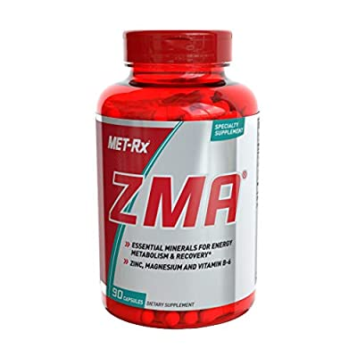 MET-Rx ZMA Supplement, Supports Muscle Recovery