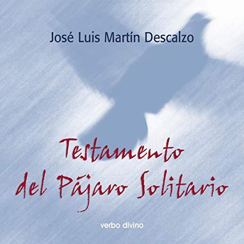 Diseño de la portada del título Testamento del Pájaro Solitario
