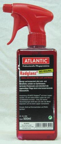 Atlantic Unisex– Erwachsene Radglanz Radreiniger, Keine, 500 ml