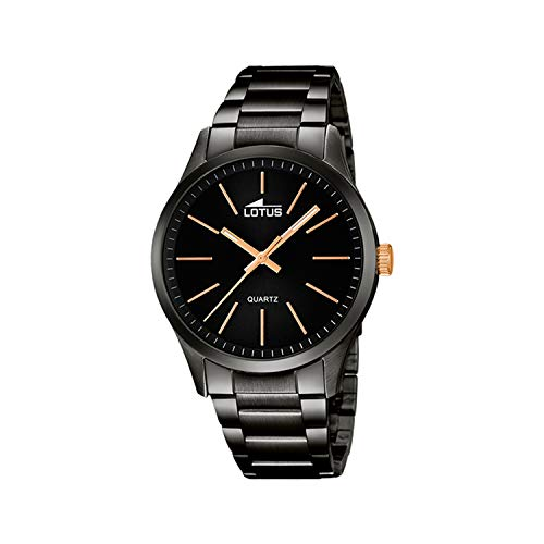 Montre Lotus Collection Minimalist Acier Noir