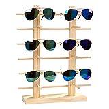 JUSTDOLIFE Brillen Ständer Kreativ Holz Dekorative Sonnenbrille Rack für Zuhause