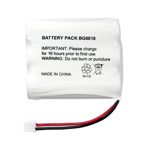 Fenzer Rechargeable Cordless Phone Battery for Sanik 3SN-AA80-S-J1 3SNAA80SJ1 Cordless Telephone Battery Replacement Pack