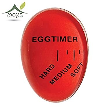 Innovative Color Changing Egg Timer Heat Sensitive Hard/Medium/Soft Boiled Egg Timer Perfect Kitchen Egg Timer Tool by Moxe
