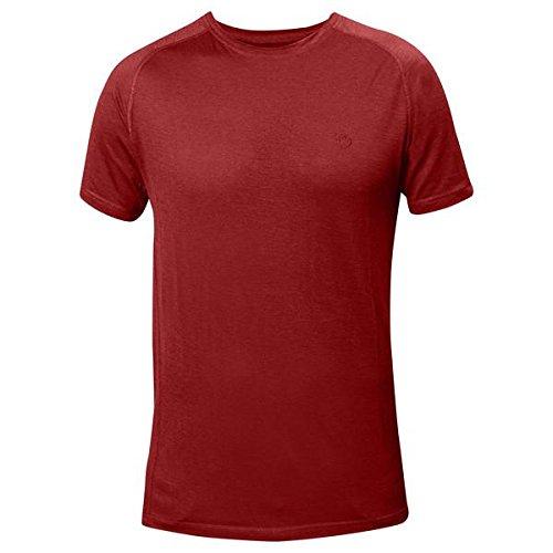 FJÄLLRÄVEN Abisko Trail 82429 T-Shirt pour Homme XXXL Orange (Lave)