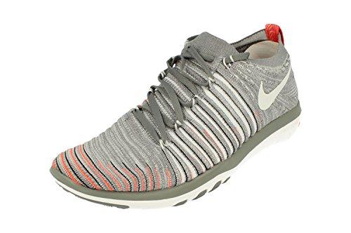 Nike Wm Free Transform Flyknit, Damen-Sneakers, - Cool Grey Pure Platinum - Größe: 37.5 EU
