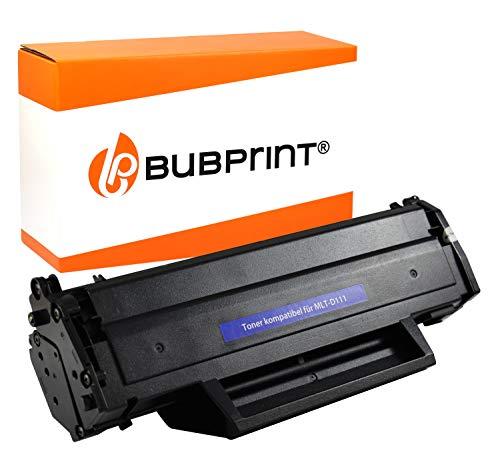 Bubprint Toner kompatibel für Samsung MLT-D111S für Xpress M2020 M2020W M2021W M2022 M2022W M2026 M2026W M2070 M2070F M2070FW M2070W M2078W Schwarz