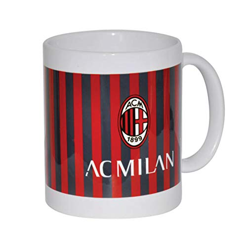 Giemme articoli promozionali - Tazza Mug Ceramica Stemma Milan Prodotto Ufficiale Idea Regalo Calcio Rossoneri