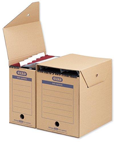 6 ELBA tric system Archivbox für Hängeregistraturen