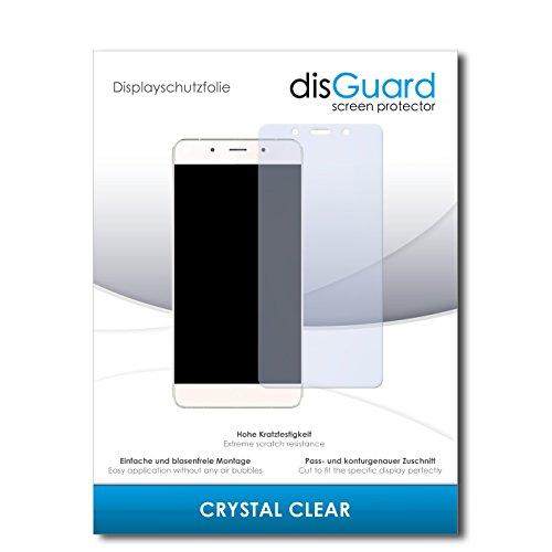 disGuard® Protector de Pantalla [Crystal Clear] compatibile con Hisense C1 [3 Piezas] Cristal, Transparente, Invisible, Anti-Arañazos, Anti-Huella Dactilar - Película Protectora