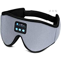 Musicozy Bluetooth Sleep Mask with Headphones