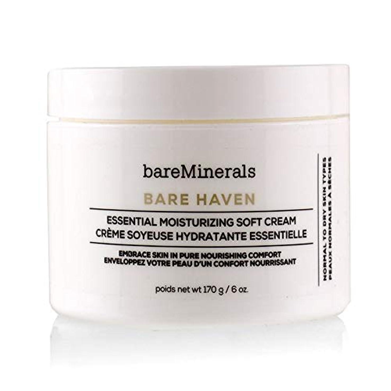 引き渡す誕生日疑問に思うベアミネラル Bare Haven Essential Moisturizing Soft Cream - Normal To Dry Skin Types (Salon Size) 170g/6oz並行輸入品