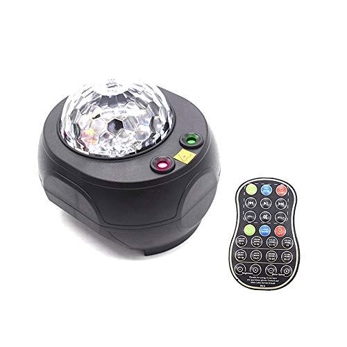 BESTINE Proyector de Estrella Luz Nocturna, LED USB Lámpara Proyector Estrella con Altavoz Bluetooth Control Remoto para Adultos Niños Dormitorio Decoración Regalo Navidad Halloween