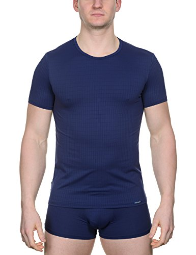 Bruno Banani Shirt Check Line, Bleu Marine à Carreaux (542), L Homme