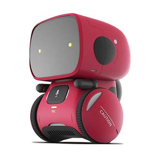 Smart Robot Toys para niños Mejores regalos de cumpleaños Inteligente Educativo Juguetes robóticos, Control de voz Diálogo de voz interactiva Diálogo Toque Sensando cantando y baile