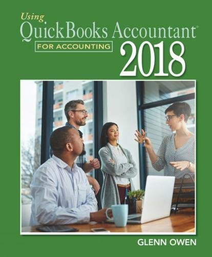 Download Using Quickbooks Accountant 2018 for Accounting 0357042077