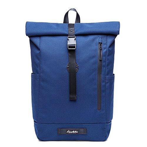 KAUKKO Rucksack Schicker und Stylish Backpack für Schule, Uni, Beruf und Reise mit Laptopfach & Anti Diebstahl für den täglichen Gebrauch