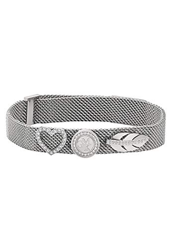 Guido Maria Kretschmer by CHRIST GMK Collection Damen-Armband Edelstahl 0 Zirkonia One Size Silber/Symbole 32003083
