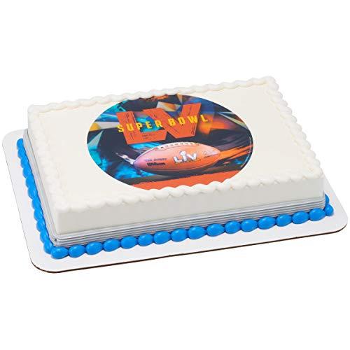 Super Bowl Superbowl LV Edible Cake Image Topper Decoration