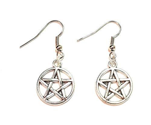 Pentagramm Ohrringe
