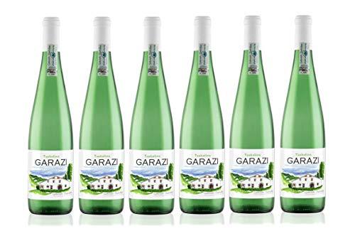 Caja de 6 botellas de Garazi Txakoli de Getaria Vino Blanco