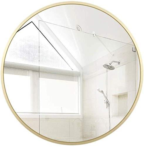 GCX- Maquillage Miroir Miroir Salle de Bains Toilettes Toilettes Salle de Bains Miroir éponte Miroir Rond Miroir décoratif La Mode (Size : 50 * 50 cm)
