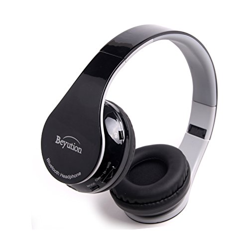 Beyution Smart Stereo Wireless Bluetooth Headphone---for Apple iphone series and all IPAD IPOD series; SAMSUNG GALAXY S4/S3; Nook; Visual Land; Acer; Coby; Ematic; Asus; Hisense; Supersonic; Adesso; Filemate; LG and all portable deive which with bluetooth device