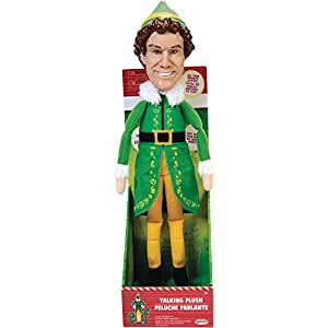 Elf Talking Plush with 15 Phrases Approximately 12-Inches in Height - 41whSdd2tBL - Elf Talking Plush with 15 Phrases Approximately 12-Inches in Height