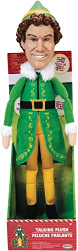 Elf Talking Plush with 15 Phrases Approximately 12-Inches in Height