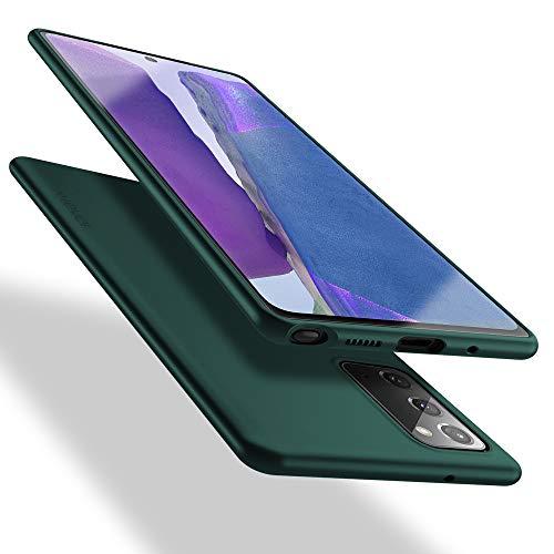 X-level Samsung Galaxy Note 20 Hülle, [Guardian Serie] Soft Flex TPU Hülle Superdünn Handyhülle Silikon Bumper Cover Schutz Tasche Schale Schutzhülle für Samsung Galaxy Note 20 5G - Grün