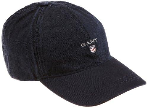 GANT Herren Baseball Twill Cap, Blau (Marine 410), One size