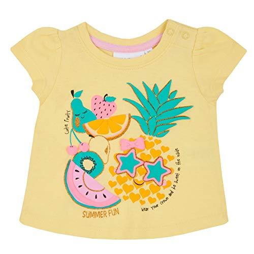 Lora Dora T-Shirt à Manches Courtes pour bébé Fille - Jaune - 2 Mois