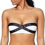 Tommy Hilfiger Bandeau-RP Parte de Arriba de Bikini, Blanco (Pvh White 143), L para Mujer