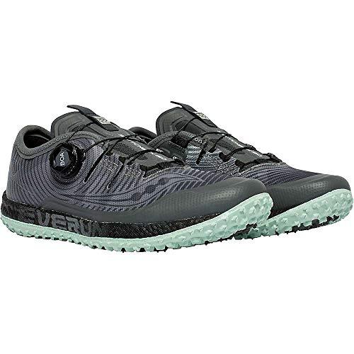 [サッカニー] シューズ 24.0 cm スニーカー Women's Switchback ISO Shoe Grey/Min レディース [並行輸入品]