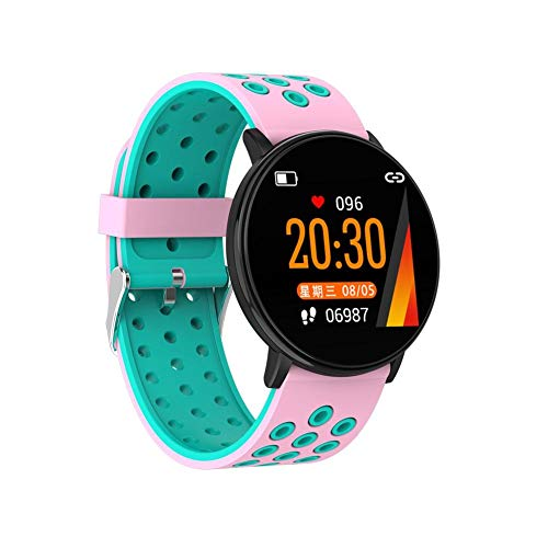 colinsa Smart Watch, Bluetooth Smartwatch Orologio da Polso Sport per Uomo Donna Bambini Compatibile Android iOS, Ip67 Waterproof, Fitness Activity Tracker con cardiofrequenzimetro